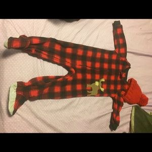 Other - Plaid baby onesie